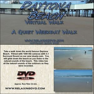TREADMILL WALK On DAYTONA BEACH, Exercise, Relaxation DVD