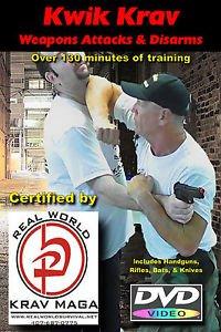 Weapons Attacks & Disarms, Survive the Street, Krav Maga Self Defense Training