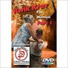 """""""KRAV MAGA for Women""""  2 Disk Set, Complete Self Defense Training Video DVD."""