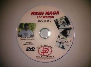 """""""KRAV MAGA for Women II"""" Self Defense Video DVD."""