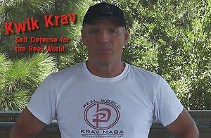 """""""KWIK KRAV III"""" Krav Maga Self Defense Video for those with No Time to Train DVD"""