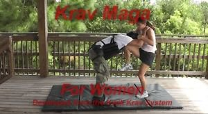 """KRAV MAGA for Women "" Plus ""Conditioning & Practice Drills Self Defense DVD."