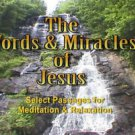 """Words Miracles of Jesus"" Learn the Word with this Relaxation / Meditation DVD"