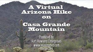 """""""ARIZONA MOUNTAIN HIKE"""" , on Casa Grande Mountain, Exercise, Travel DVD"""