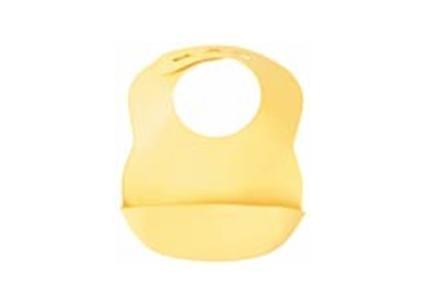 Bibbity Rinse & Roll Bib - Yellow
