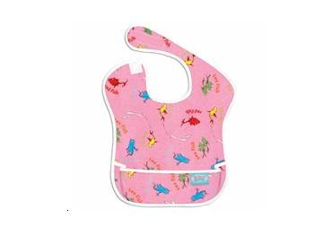Bumkins Super Bib - Dr. Seuss Pink Fish