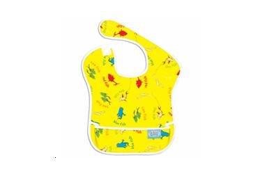 Bumkins Super Bib - Dr. Seuss Yellow Fish