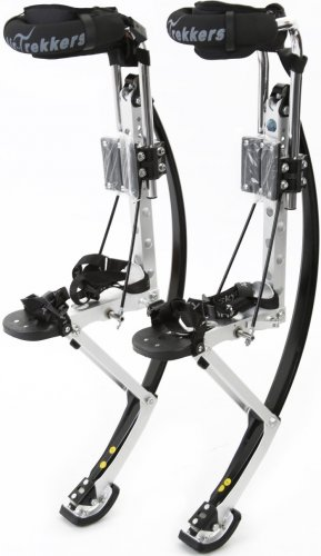 Air-Trekker Jumping Stilts BW-ADULT-LARGE Edition 210-240 lbs
