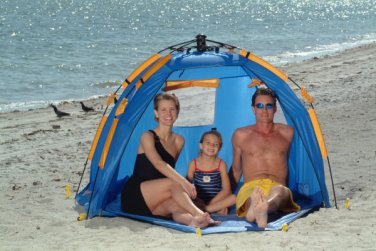 ABO Gear Instent Shelter Beach Tent Cabana Pop-Up Sun Shade Camping Canopy