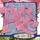 Pretty in Pink Alphabet 1 - ON SALE!
