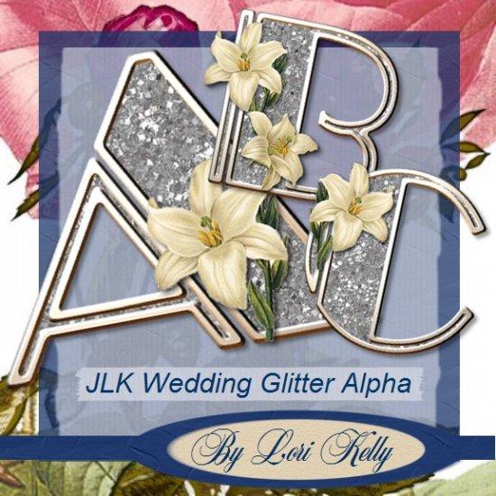 Wedding Glitter Alpha - ON SALE!