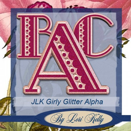 Girly Glitter Alpha - ON SALE!