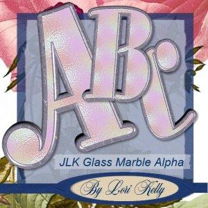 Glass Marble Alpha - ON SALE!
