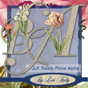 Totally Floral Alpha - ON SALE!