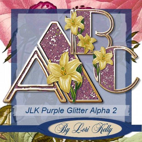JLK Purple Glitter Alpha 2 - ON SALE!