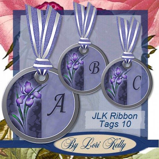JLK Ribbon Tags 10 - ON SALE!