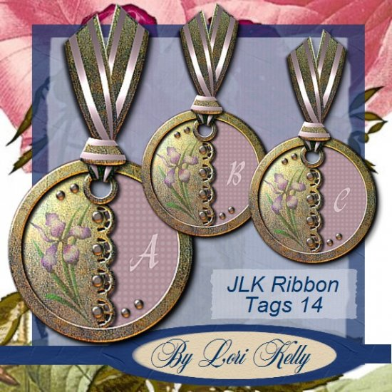 JLK Ribbon Tags 14 - ON SALE!