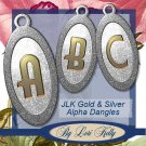 JLK Gold & Silver Alpha Dangles - ON SALE!