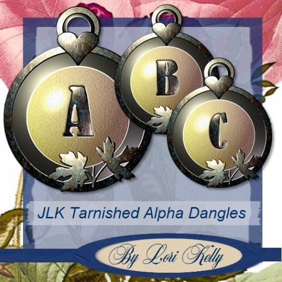 JLK Tarnished Alpha Dangles - ON SALE!