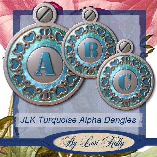JLK Turquoise Alpha Dangles - ON SALE!
