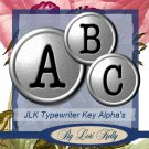 JLK Typewriter Keys Alpha - ON SALE!