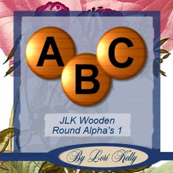 JLK Wooden Round Alpha's 2 - ON SALE!