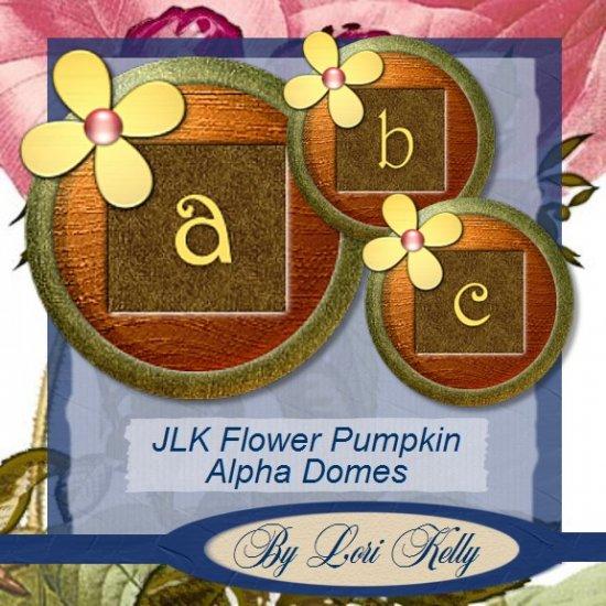 JLK Flower Pumpkin Alpha Domes - ON SALE!