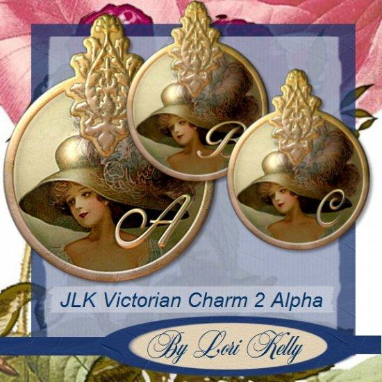 JLK Victorian Charm 2 Alpha - ON SALE!
