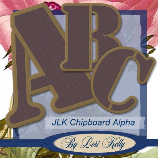 JLK Chipboard Alpha - ON SALE!