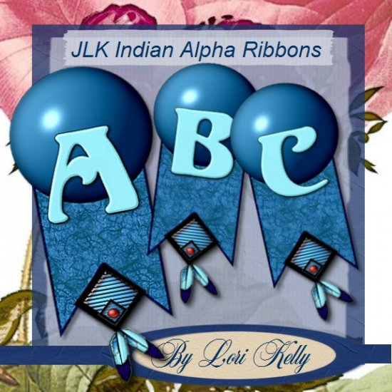 JLK Indian Alpha Ribbons