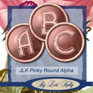 JLK Pinky Round Alpha - ON SALE!