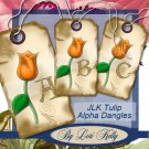 JLK Tulip Alpha Tags - ON SALE!