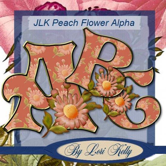 JLK Peach Flower Alpha's - ON SALE!