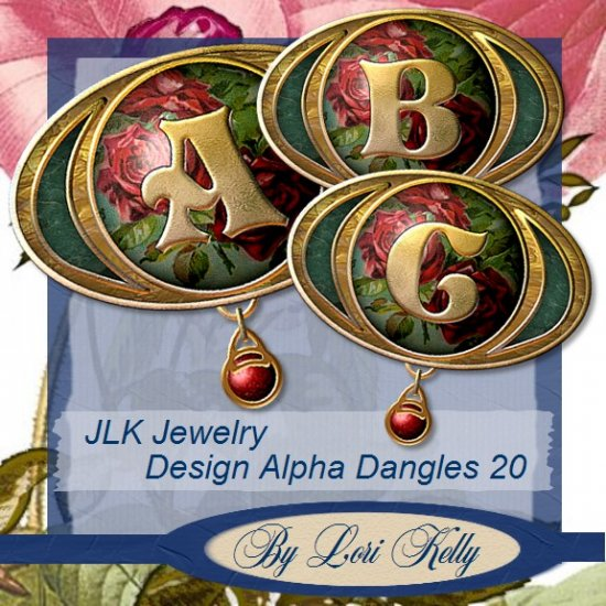 JLK Jewelry Design Alpha Dangles 20