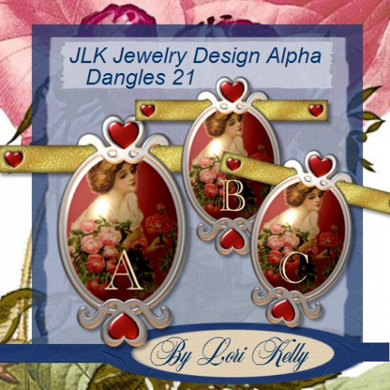 JLK Jewelry Design Alpha Dangles 21