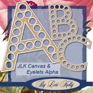 JLK Canvas & Eyelets Alpha - ON SALE!