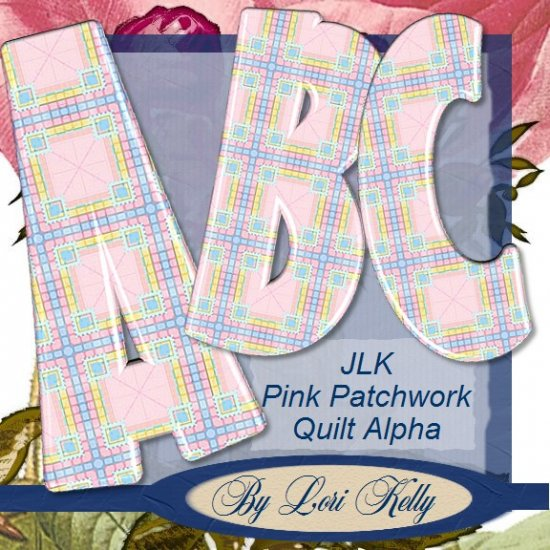 JLK Patchwork Quilt Alpha - ON SALE!