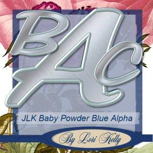 JLK Baby Powder Blue Alpha - ON SALE!
