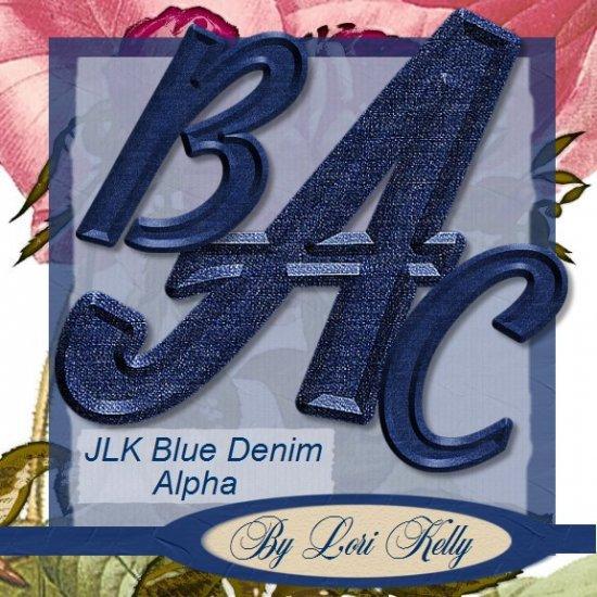 JLK Blue Denim Alpha - ON SALE!