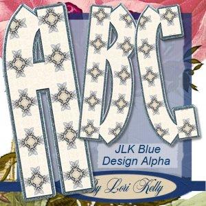JLK Blue Design Alpha - ON SALE!