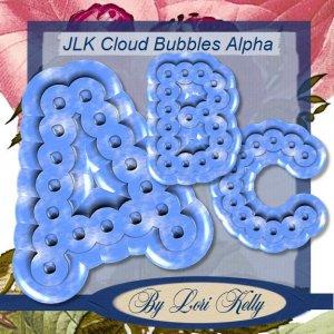 JLK Cloud Bubbles Alpha - ON SALE!