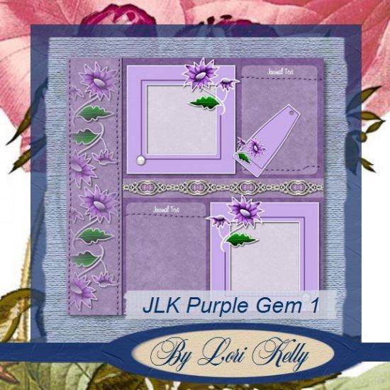 JLK Purple Gem Template