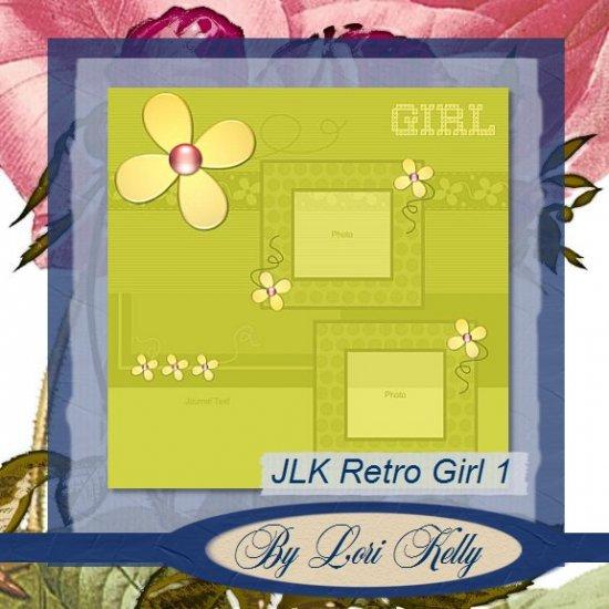JLK Retro Girl Template