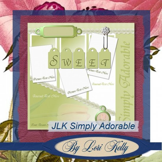 JLK Simply Adorable Template