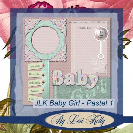 JLK Baby Girl Template - Pastel