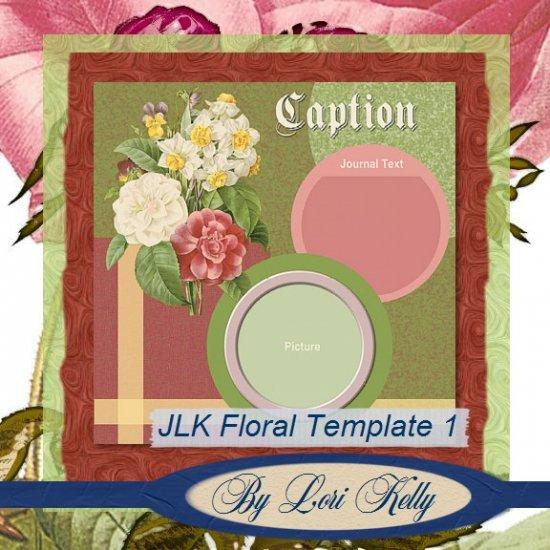 JLK Floral Template 1