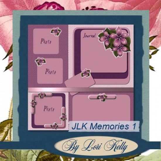 JLK Memories Template