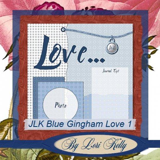 JLK Blue Gingham Love Template 1