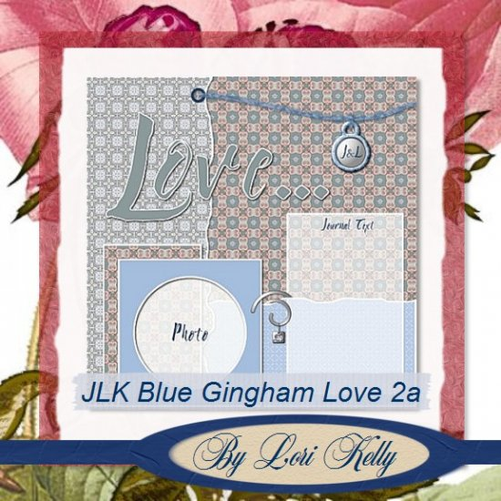 JLK Blue Gingham Love Template 2