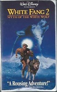 White Fang 2: Myth of the White Wolf (VHS) Walt Disney